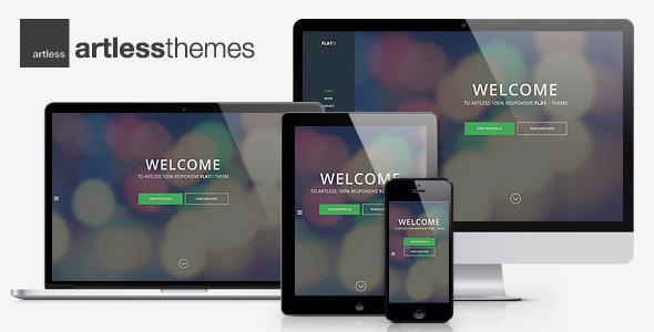 Flato - Parallax One Page WordPress Theme - Portfolio Creative