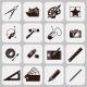 Designer Tools Black Icons - GraphicRiver Item for Sale