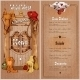 Wild West Saloon Menu - GraphicRiver Item for Sale