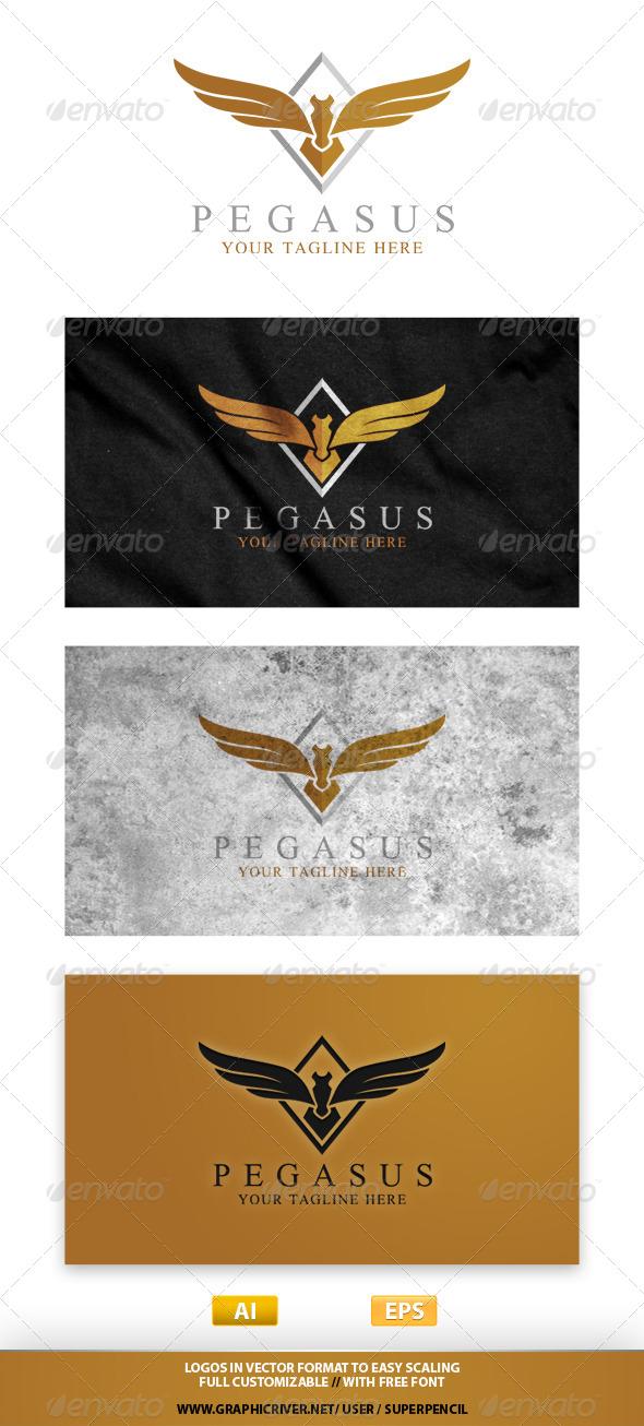 GraphicRiver Pegasus Logo 7799922