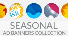 Seasonal Ad Banners Collection