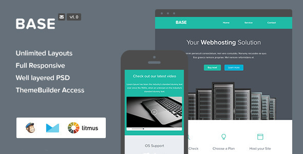 ThemeForest Base Video Email & Themebuilder Acces 7800275