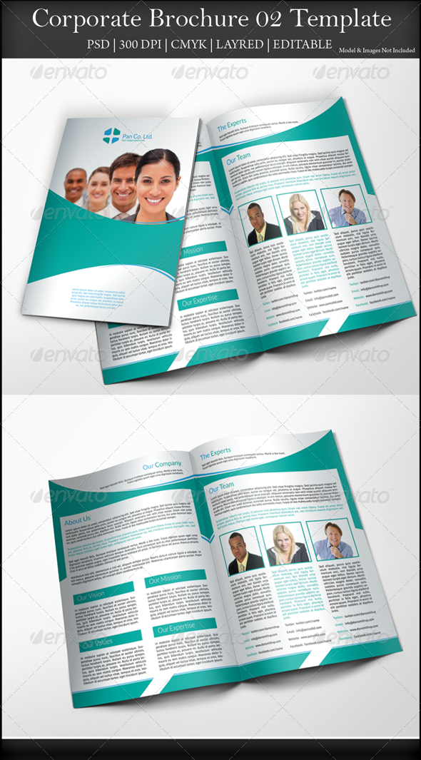 GraphicRiver Corporate Brochure 02 7800880