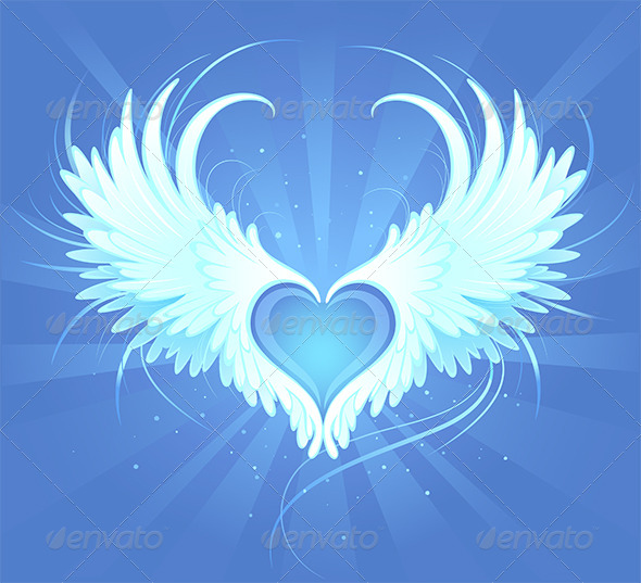 GraphicRiver Angel heart 7801156