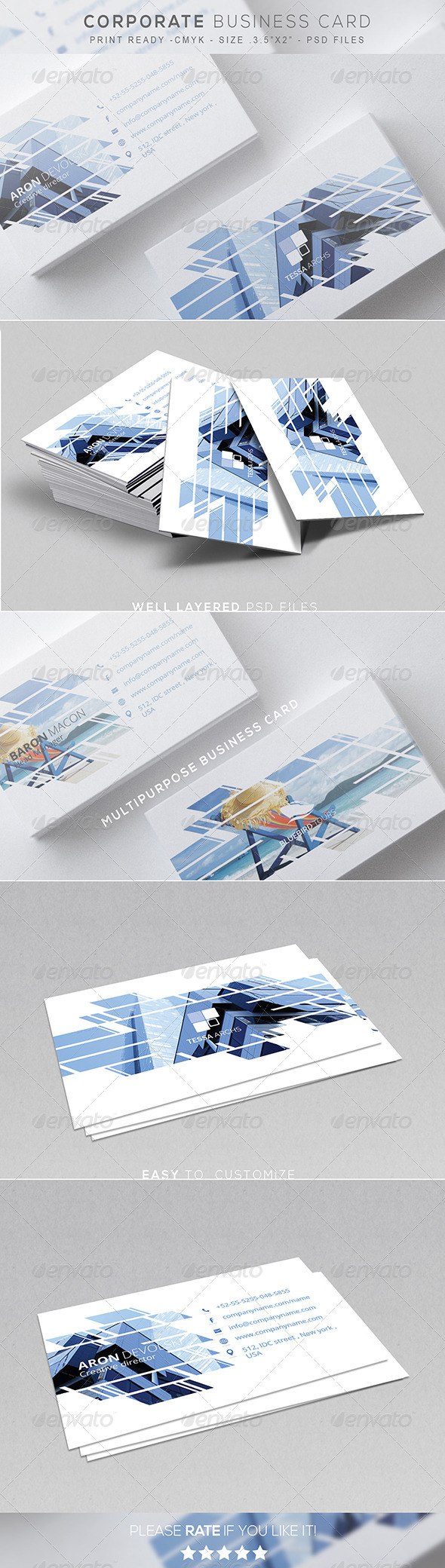 GraphicRiver Corporate Business Card 7801397