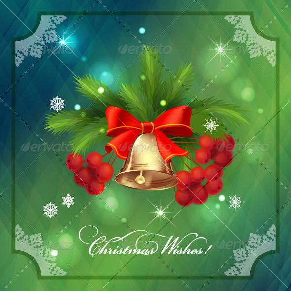 GraphicRiver Christmas Holidays Frame Card 7801475