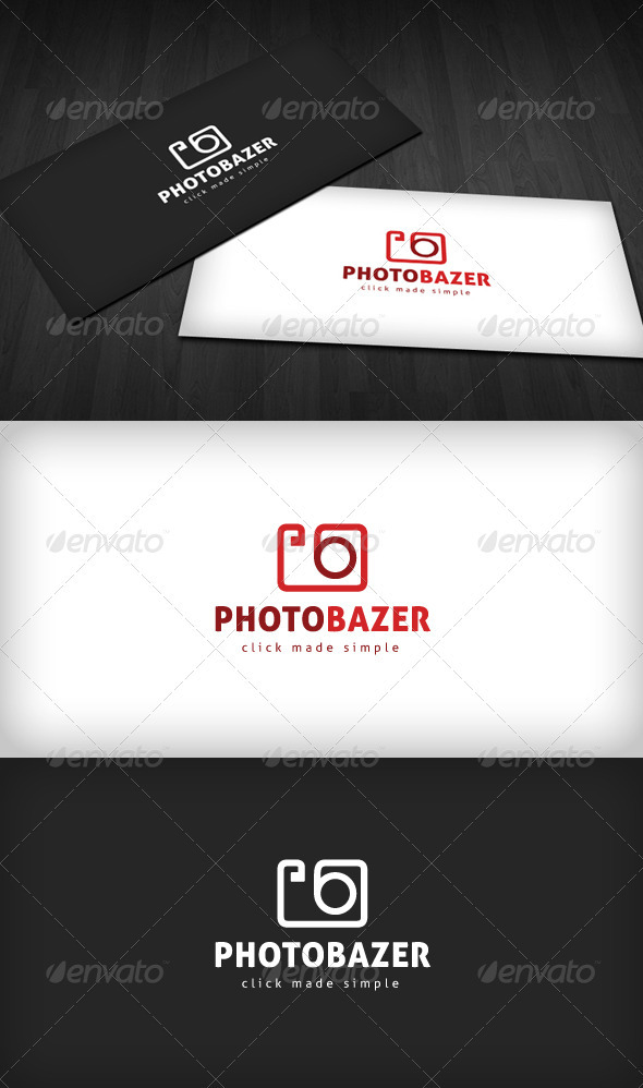 Photobazer Logo - Objects Logo Templates