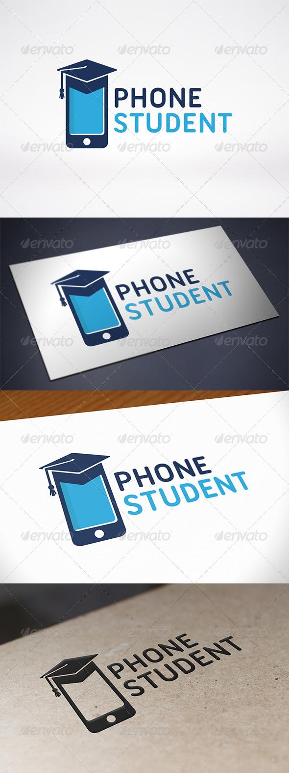 GraphicRiver Phone Education Logo 7802504