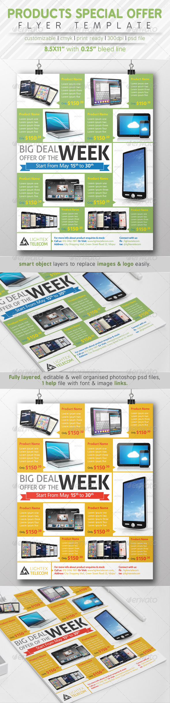 GraphicRiver Products Special Offer Flyer Ads 7784967