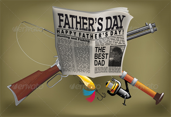 GraphicRiver Father s Day Card 7802918