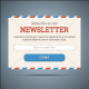 Newsletter Subscribe Form for Web and Mobile - GraphicRiver Item for Sale