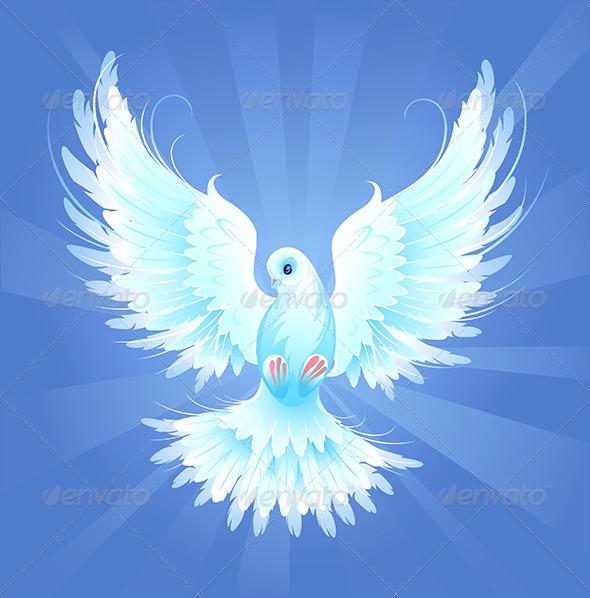 GraphicRiver White Dove 7803058