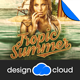 Tropic Summer Flyer Template