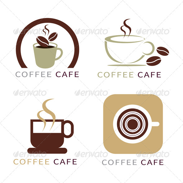 GraphicRiver Set of Coffee Elements 7803498