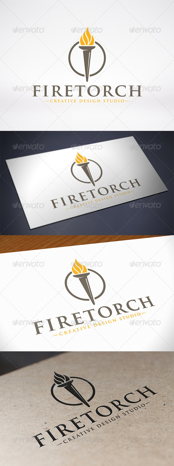 GraphicRiver Torch Logo Template 7803756