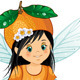 Orange Fairy Sitting - GraphicRiver Item for Sale