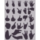 Set of Finger Gestures Silhouettes - GraphicRiver Item for Sale