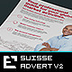 Suisse Corporate Advert / US Letter / A4 v2  - GraphicRiver Item for Sale