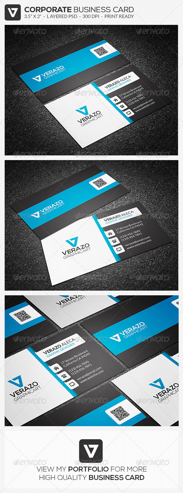 Creative Corporate Business Card 36