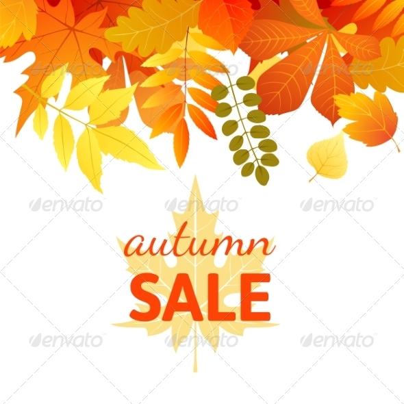 GraphicRiver Autumn Background 7804886