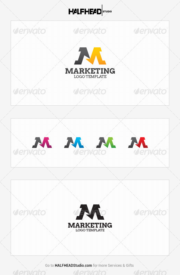 GraphicRiver Marketing Logo Template 7805335