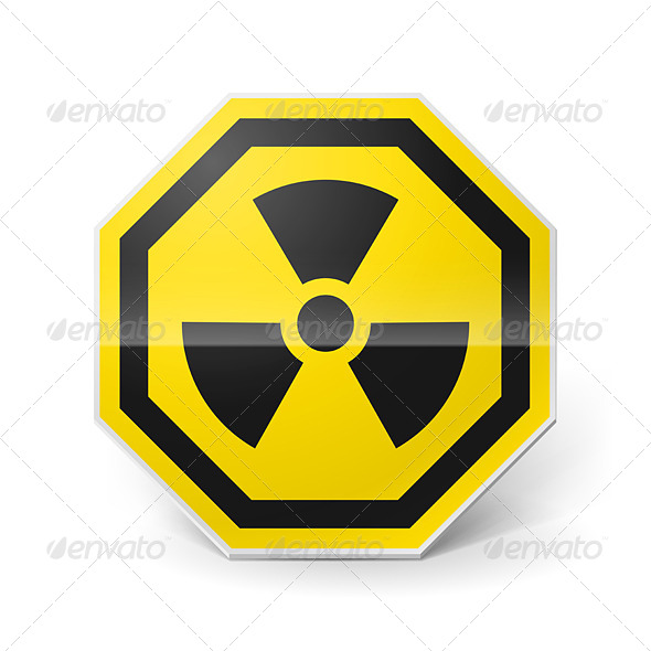 GraphicRiver Radiation Sign 7805526