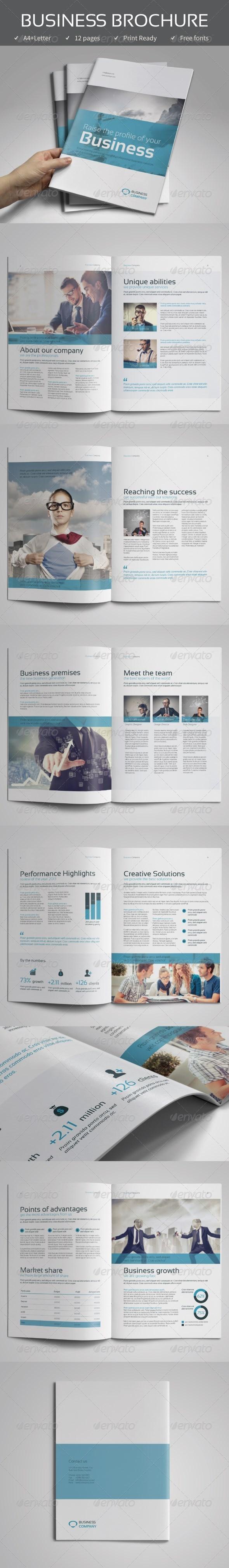 GraphicRiver Corporate Business Brochure vol.1 7805534