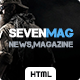 SevenMag - HTML5 Blog/Magazine/Games/News Template - ThemeForest Item for Sale