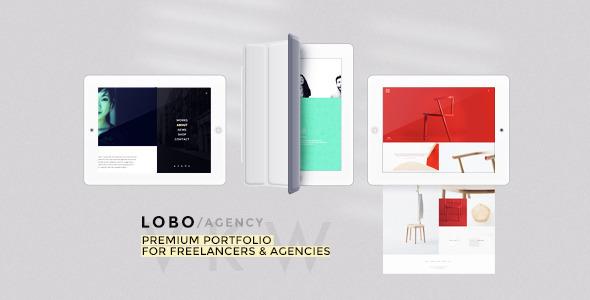 ThemeForest Lobo Portfolio for Freelancers & Agencies 7762848