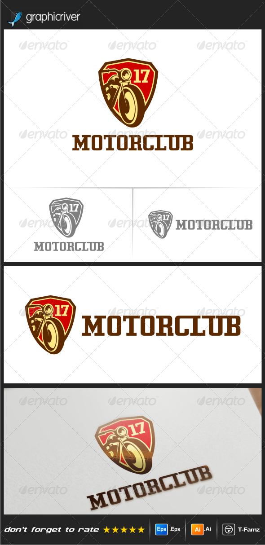 GraphicRiver Motor Club 1 Logo Templates 7787088