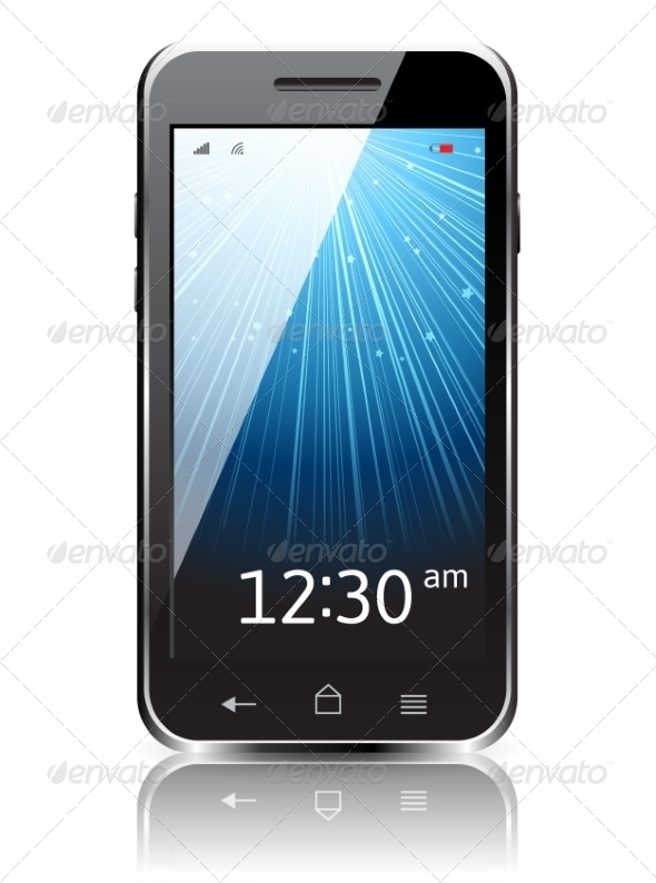 Realistic Smartphone Icon