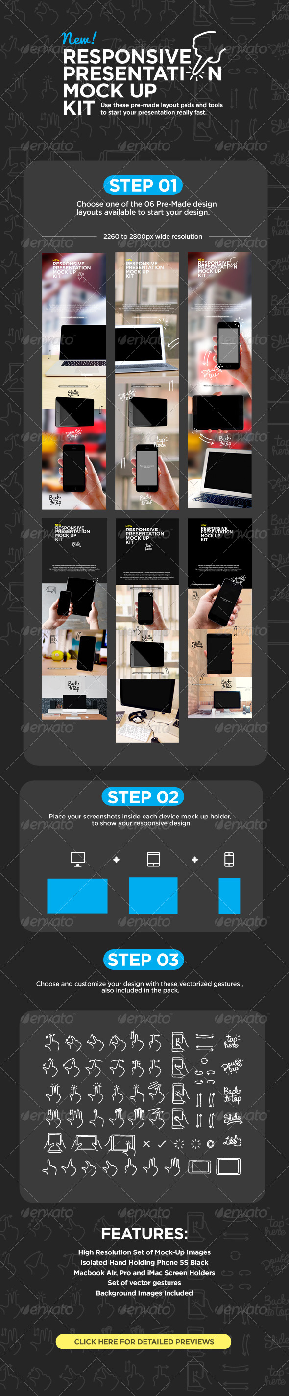 GraphicRiver Responsive Screens Device Mock-Up 7750830
