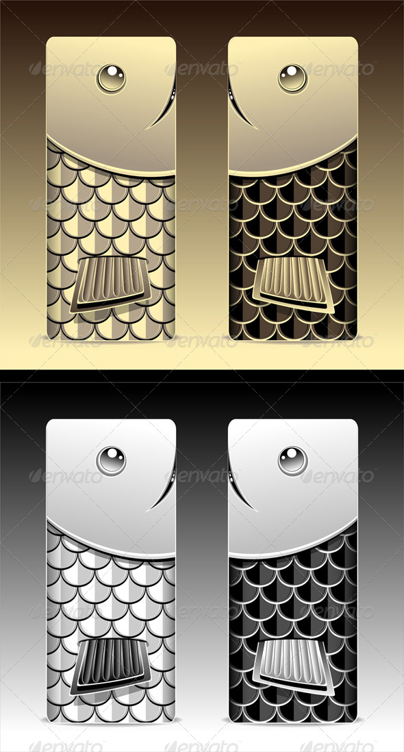 GraphicRiver Bumper with Seamless Pattern Fish Scale 7806254