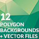 12 Polygon Abstract Backgrounds