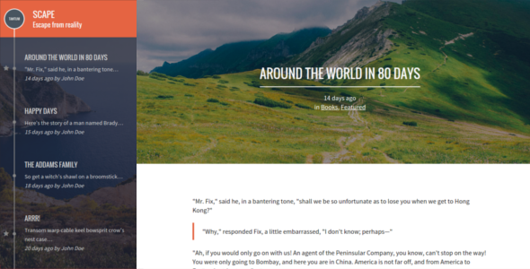 Scape: Responsive Ghost theme - Ghost Themes Blogging