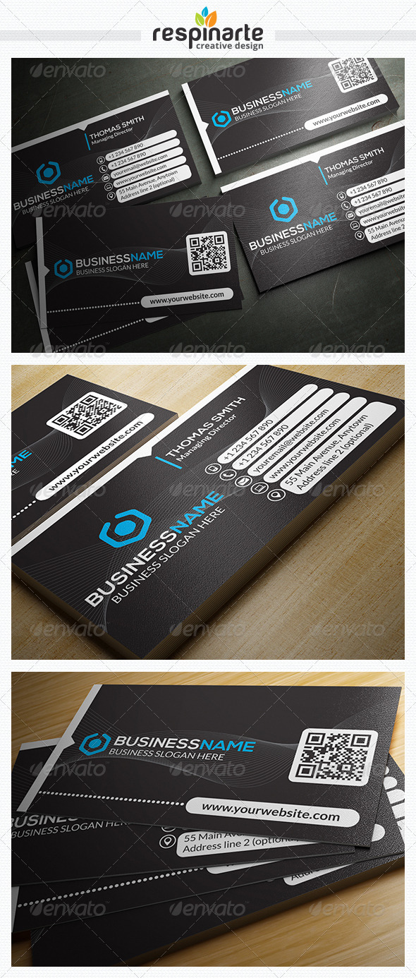 GraphicRiver Corporate Business Card RA27 7806453