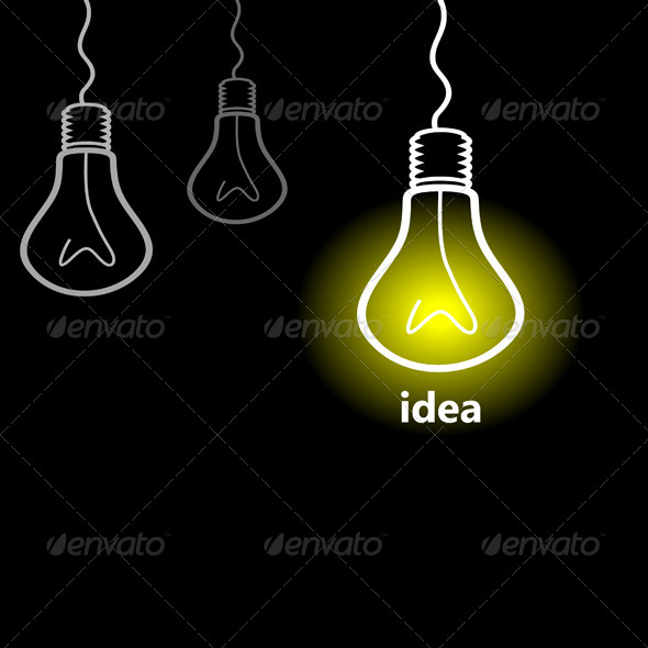 GraphicRiver Idea a Bulb 7806524