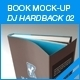 MyBook Mock-up - DJ Hardback 02 - GraphicRiver Item for Sale