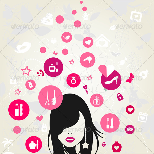 GraphicRiver Woman 7806536