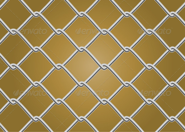 Chainlink fence pattern vector tinkytyler stock