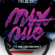 Mix Nite Flyer Template - GraphicRiver Item for Sale