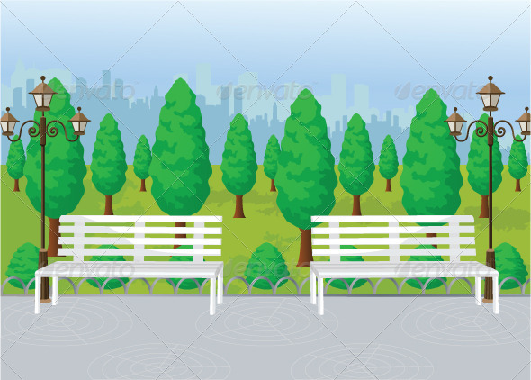 GraphicRiver Park View 7806874