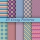 Colorful Crazy Seamless Patterns