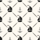 Seamless Anchor & Sailboat Pattern - GraphicRiver Item for Sale