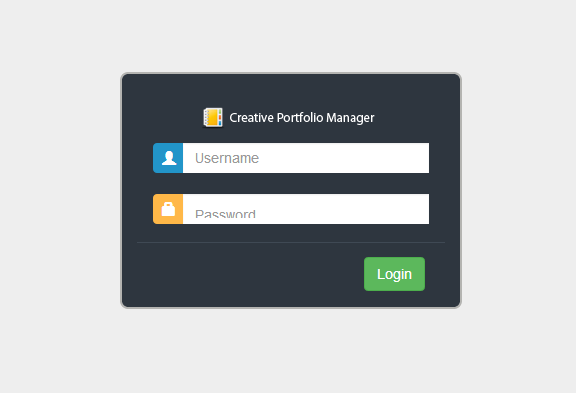 Creative Portfolio Manager