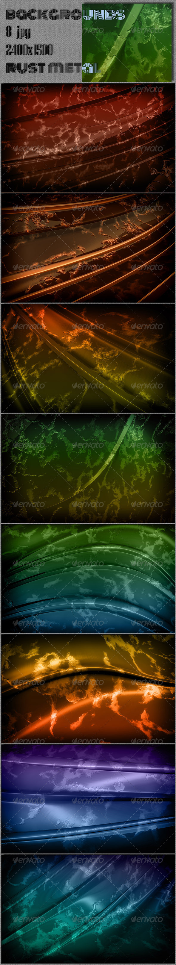 GraphicRiver Rust Metal Background 7807380
