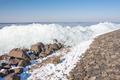 Winter seascape with hummocks along Dutch coast - PhotoDune Item for Sale