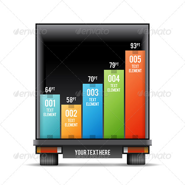 GraphicRiver Truck Back Distribution Bar Graphic 7808424