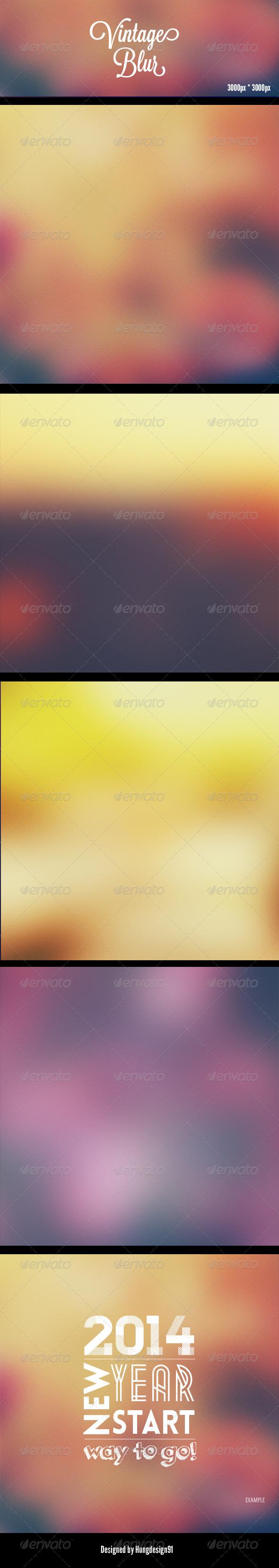 GraphicRiver Vintage Blur Backgrounds HD 7808824