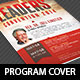 Leadership Convention Program Cover Template - GraphicRiver Item for Sale